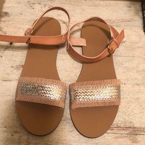 J crew sandals size 8